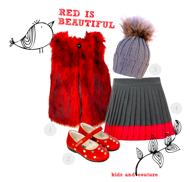 Red is beautiful by kids-and-couture