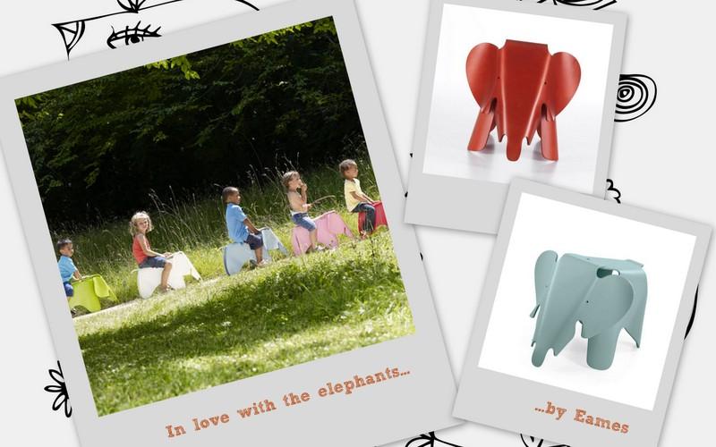 kidsandcouture loves elephants by Eames