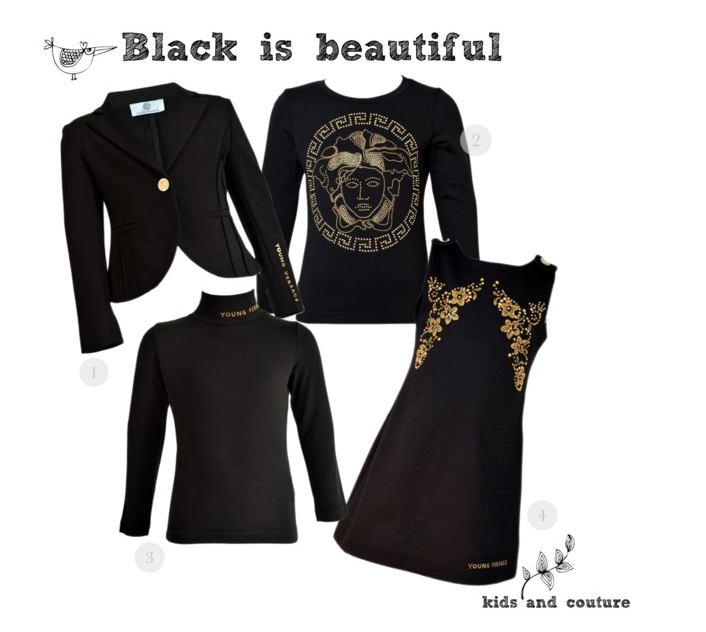 Black is beautiful by kids-and-couture