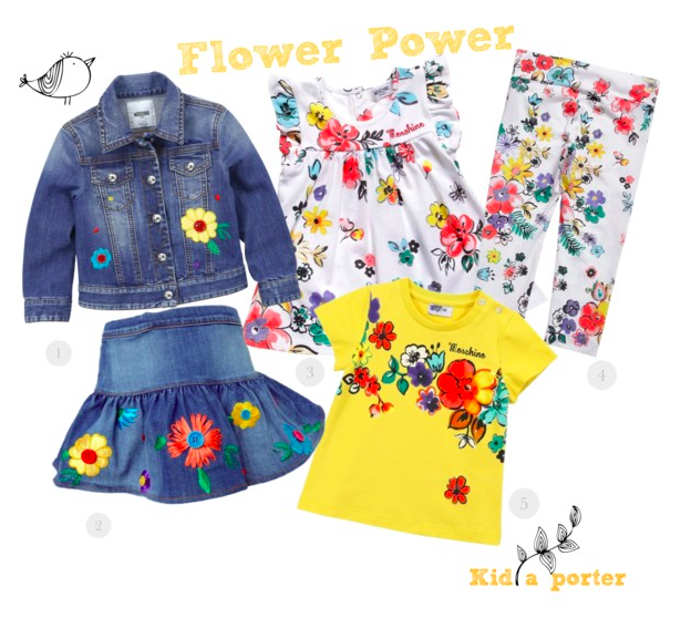 Flower Power by Moschino