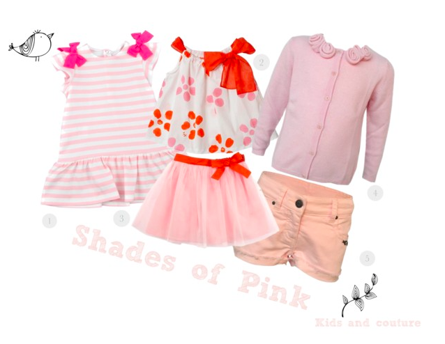 Shades of pink by kids-and-couture