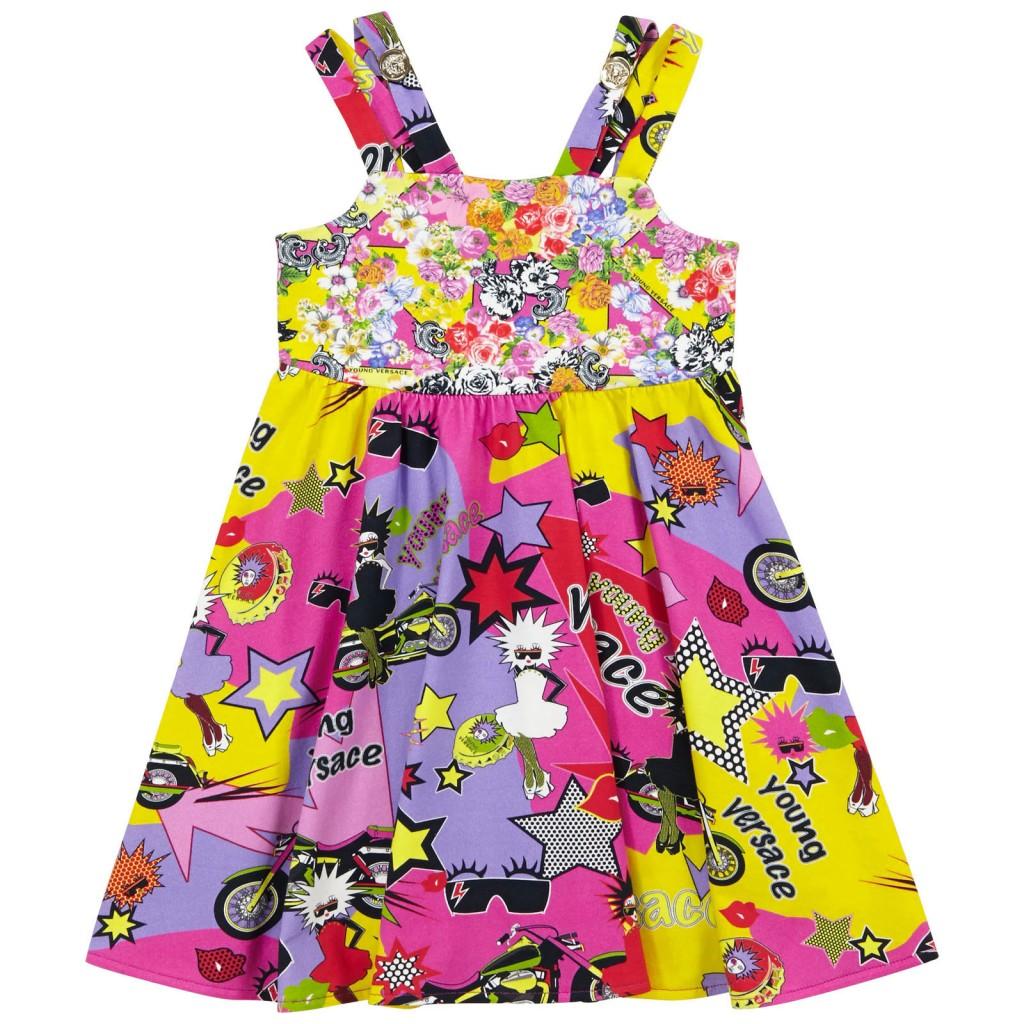 YoungVersace-girls-kleid-rosa-gelb-blumen1