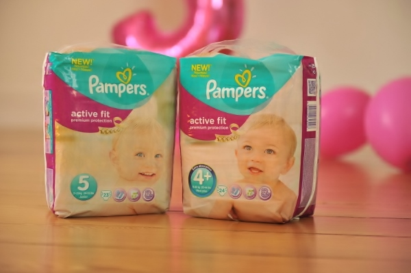product test of Pampers Active Fit4
