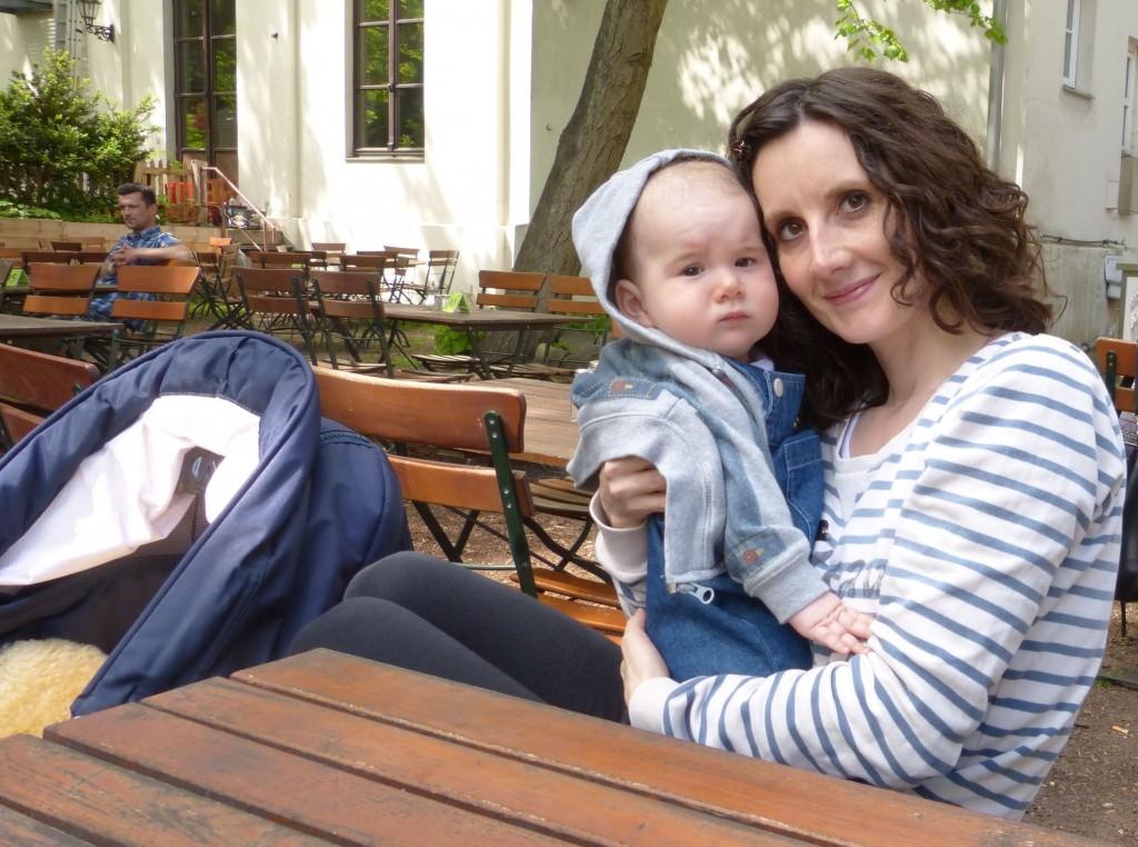 Susanna und Sohn Enno