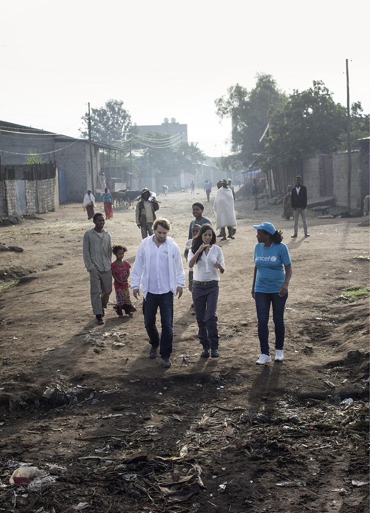 Pampers für UNICEF 2014: Projektreise nach Äthiopien mit Chris