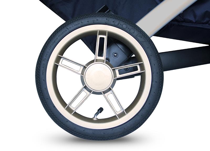 Joolz Geo_Royal Blue_Wheels