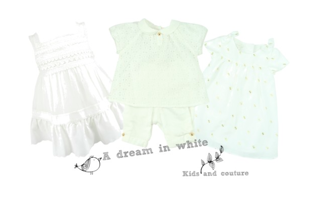A dream in white by Kids-and-couture