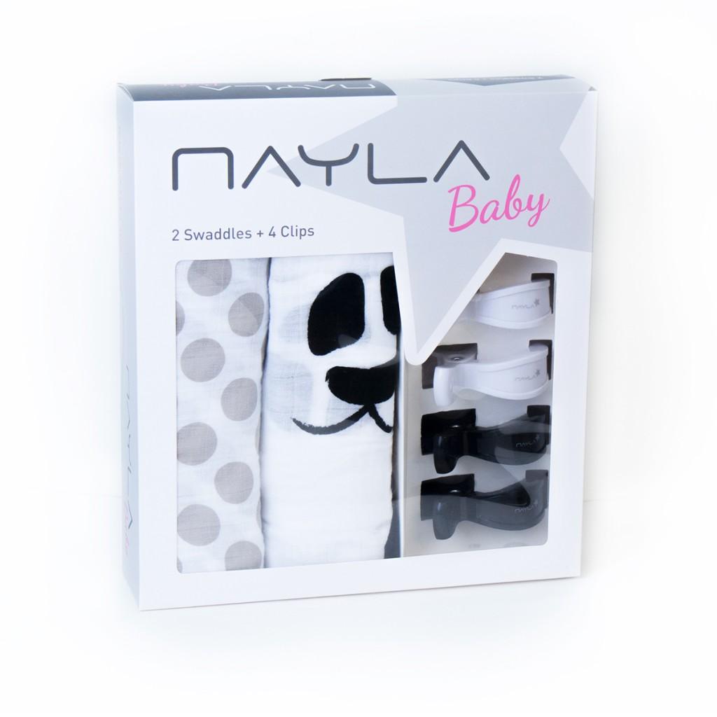 nayla-baby-swaddle-pucktuch-geschenkset-panda-grau-weiss1