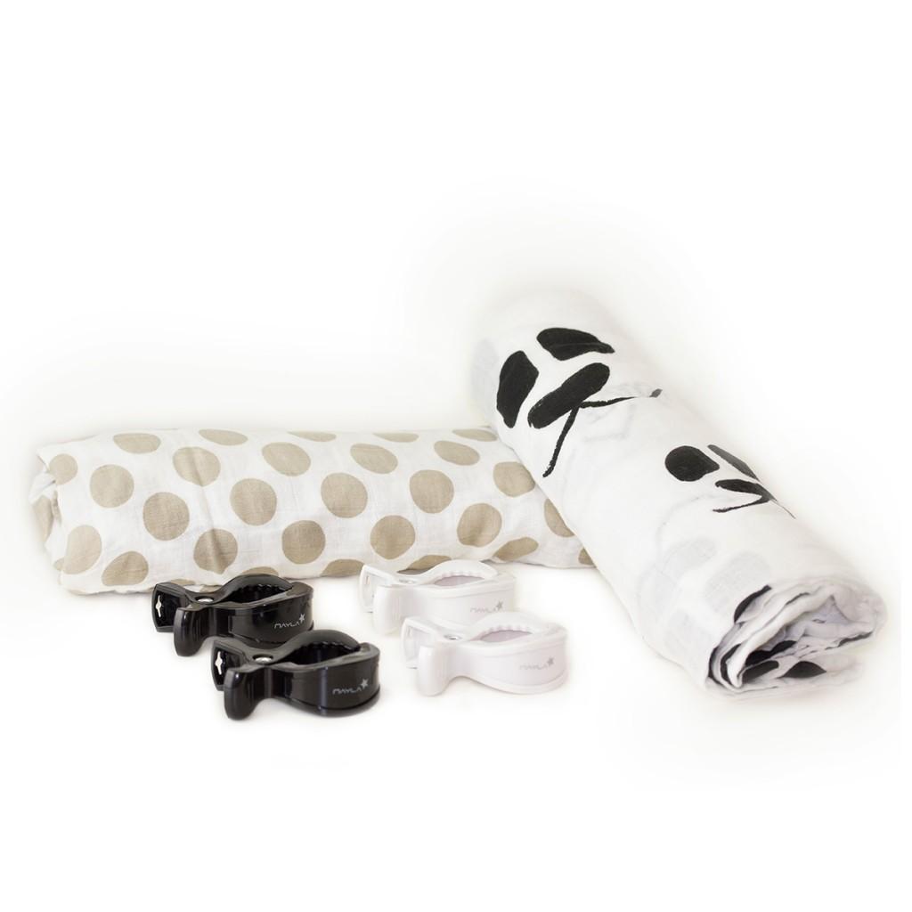 nayla-baby-swaddle-pucktuch-geschenkset-panda-grau-weiss2