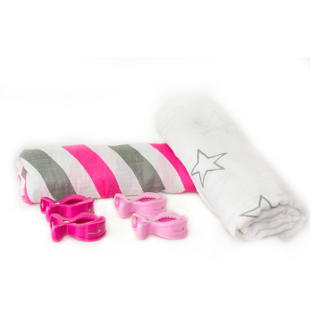 nayla-baby-swaddle-pucktuch-geschenkset-stars-and-stripes-pink2